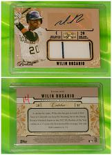 Buy MLB WILIN ROSARIO ROCKIES AUTOGRAPHED 2014 TOPPS TRIPLE THREADS JERSEY SP 75/75