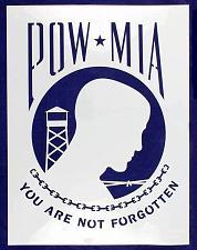 "Buy POW-MIA Flag Stencil 18"" x 24"" Painting /Crafts/ Templates"