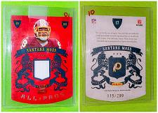 Buy Nfl Santana Moss Washington Redskins 2010 Panini Crown Royal Die Cut Jersey /299