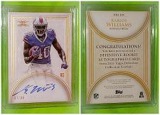 Buy NFL Karlos Williams Bills Autographed 2015 Topps Definitive Collection RC Sp/99