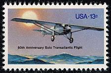 Buy US #1710 Spirit of St. Louis; MNH (0.25) (4Stars) |USA1710-09