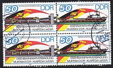Buy GERMANY DDR [1986] MiNr 3052+53 Zdr 4er ( OO/used ) Schiffe