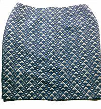 Buy Jones Studio Separates Women's Pencil Skirt Size 20W Blue Silver Diamonds Lined