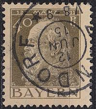 Buy GERMANY Bayern Bavaria [1911] MiNr 0082 II ( O/used )