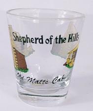 "Buy Shepherd Of The Hills Old Matt's Cabin 2.25"" Collectible Shot Glass"