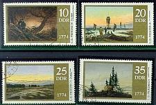 Buy GERMANY DDR [1974] MiNr 1958-61 ( OO/used ) Gemälde