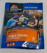 Buy Mountain House Chicken Teriyaki w/Rice 2-Serve Entree Freeze Dried Camping Food