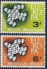 Buy BELGIEN BELGIUM [1961] MiNr 1253-54 ( **/mnh ) CEPT