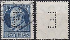 Buy GERMANY Bayern Bavaria [Dienst] MiNr 0015 ( O/used ) [02]