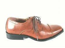 Buy Alfani Brown Square Toe Lace Up Oxford Casual Dress Shoes Men's 9.5 M (SM3)