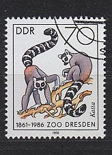 Buy GERMANY DDR [1986] MiNr 3022 ( O/used ) Tiere