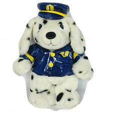 "Buy MTY International Crossing Guard Security Dalmation Dog Plush Stuffed Animal 15"""