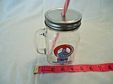 Buy Bubba Gump Shrimp Co Cancun Handled Mason Jar Glass Peace & Love Sign