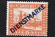 Buy GERMANY Saar [Dienst] MiNr 0012 ( */mh )