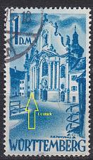Buy GERMANY Alliiert Franz. Zone [Württemberg] MiNr 0027 y I ( O/used ) [01]