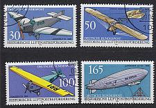 Buy GERMANY BUND [1991] MiNr 1522-25 ( O/used ) Flugzeug