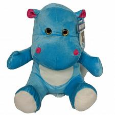 Buy NWT A&A Global Industries Parkway Toys Blue Hippopotamus Plush 2016 10""