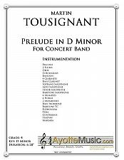 Buy Tousignant - Prelude in D Minor