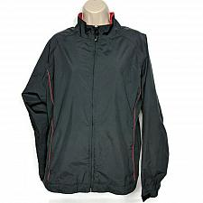 Buy Dryjoys by Footjoys Womens Windbreaker Jacket Size Large Black Zip Up