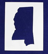 """Buy State of Mississippi Stencil 14 Mil 8"""" X 10"""" Painting /Crafts/ Templates"""