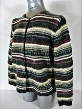Buy CROFT & BARROW womens Large petite L/S button up HEAVY cardigan SWEATER (A3)P