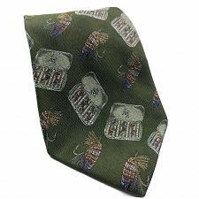 Buy Orvis Fly Fishing Outdoor Tacklebox Novelty Silk Necktie