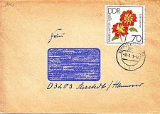 Buy GERMANY DDR [1979] MiNr 2440 ( Brief ) [01] Blumen