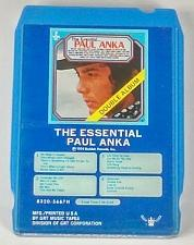 Buy The Essential Paul Anka (8-Track Tape, 8320-5667H)