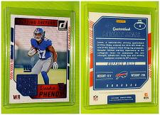 Buy NFL Sterling Shepard New York Giants 2016 Panini Rookie Phenom Jersey Relic Mint