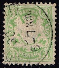 Buy Germany-Bavaria #38 Coat of Arms; Used (1.60) (3Stars) |BAY038-02XVA