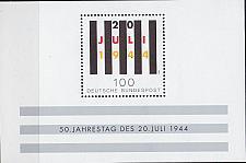 Buy GERMANY BUND [1994] MiNr 1741 Block 29 ( **/mnh )