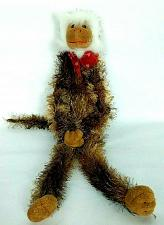 "Buy Walmart Valentine Monkey Plush Stuffed Animal With Heart Bow 20"""