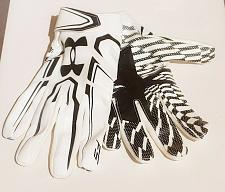Buy Under Armour UA Adult Men Large LG Black/White Football RECEIVER Gloves NWOT