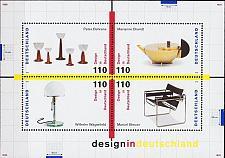 Buy GERMANY BUND [1998] MiNr 2001-04 Block 45 ( **/mnh ) Kunst