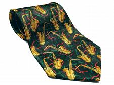 Buy Steven Harris Men's Saxophone Musical Instrument Musician Necktie Novelty