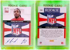 Buy NFL Edmond Gates autographed 2011 Panini Elite Rookie #30 Mint