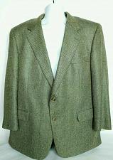 Buy Brooks Brothers Men's Suit Coat 46 Reg Fully Lined Blue Gold Herringbone