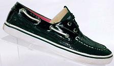 Buy Sperry Top Sider Women's Bahama Sequin Black Boat Deck Shoe Size 6 M