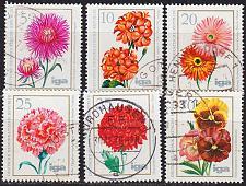 Buy GERMANY DDR [1975] MiNr 2070-75 ( OO/used ) Blumen