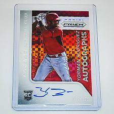 Buy MLB YORMAN RODRIGUEZ REDS AUTOGRAPHED 2015 PANINI PRIZM X FACTOR RC /125 MNT