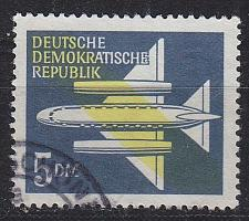 Buy GERMANY DDR [1957] MiNr 0615 ( OO/used ) Flugzeuge