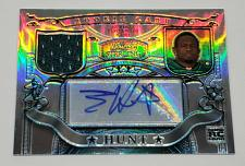 Buy NFL TONY HUNT EAGLES AUTOGRAPHED 2007 BOWMAN STERLING JERSEY REFRACTOR RC /199
