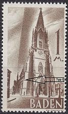 Buy GERMANY Alliiert Franz. Zone [Baden] MiNr 0013 yv I ( **/mnh )