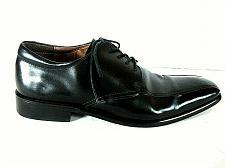 Buy Aston Grey Damon Black Leather Lace Up Oxford Dress Shoes Men's 8.5 (SM1)