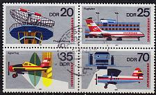 Buy GERMANY DDR [1980] MiNr 2516-09 4er ( OO/used ) Flugzeuge