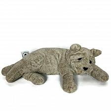 Buy Cuddly Quarry Critters Gray Kitten Cat Laying Down Plush Stuffed Animal 2003 15""