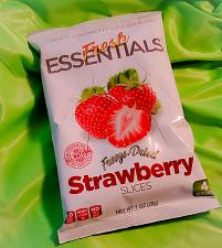 Buy Fresh Essentials Snacks Strawberry Slices 1.oz 6 COUNT FACTORY SEALED