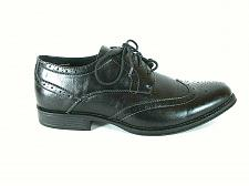 Buy Alpine Swiss Zurich Black Wingtip Lace Up Oxford Dress Shoes Men's 9 (SM5)