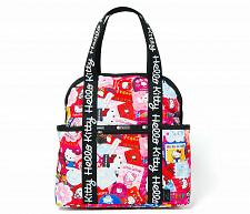 Buy New Hello Kitty LeSportsac x Hello Kitty Double Trouble Backpack Free Shipping