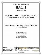 Buy Bach - Chorale from Art of the Fugue